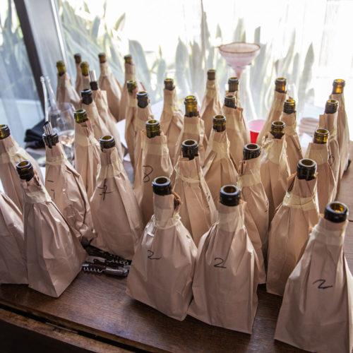 Pinot Noir blind tasing event