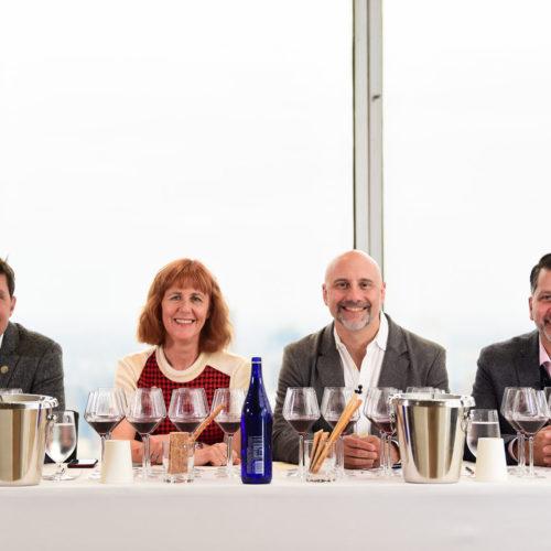Pinot Talks NYC moderator and panel